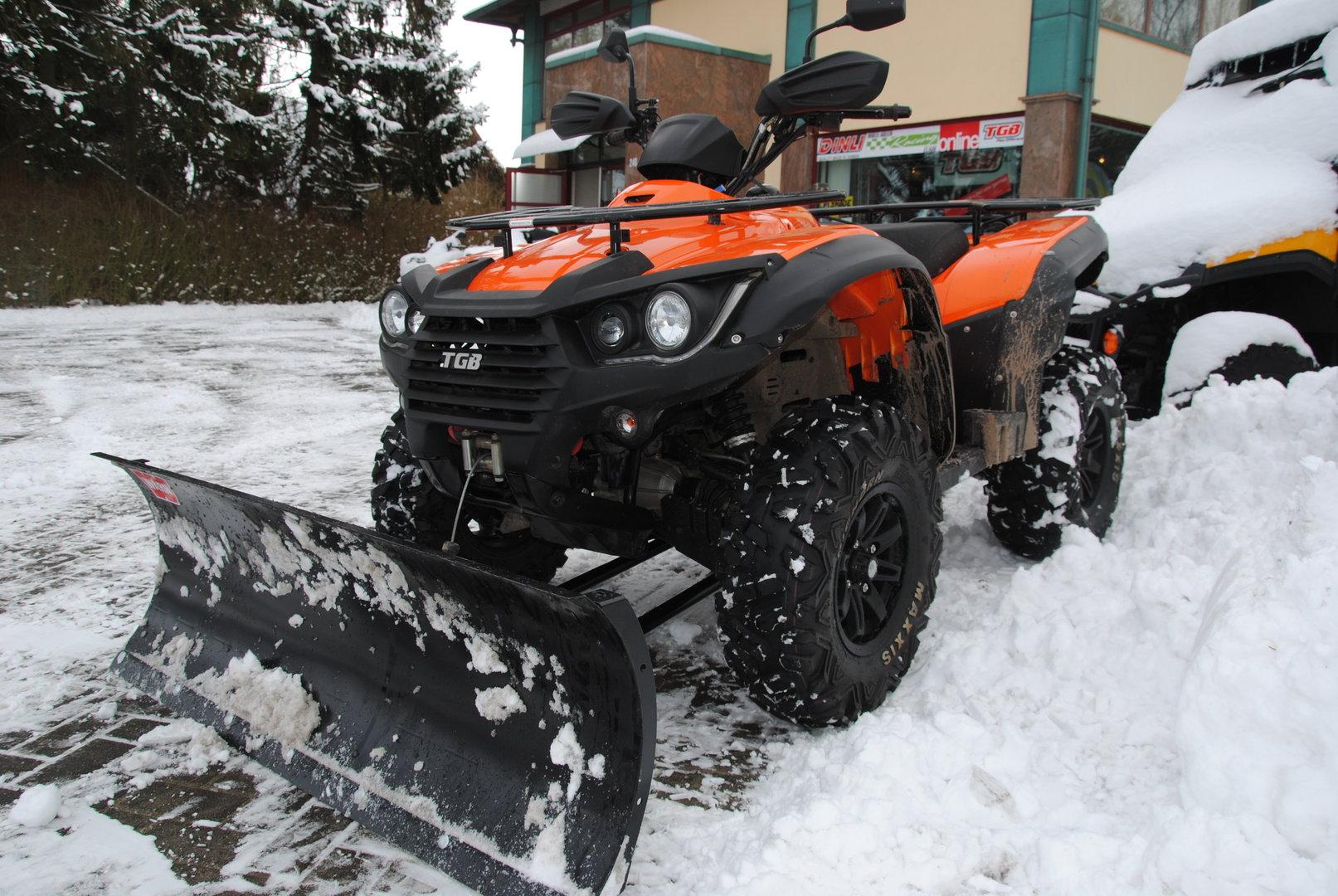 Atemberaubend Räum- und Winterdienst ATV - ATVs - mieten, kaufen & Service @GN_06